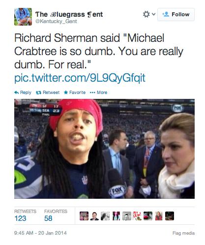 Richard Sherman Meme antoine dodson