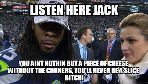 Richard Sherman Meme jack