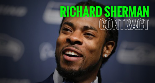 richard sherman contract