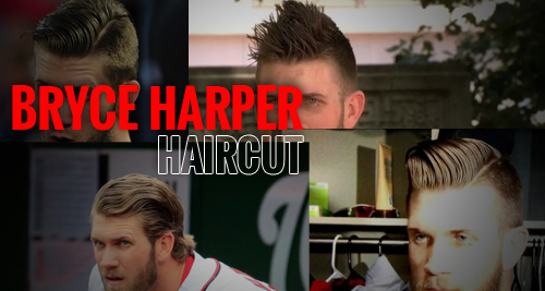Bryce Harper Haircut Collage