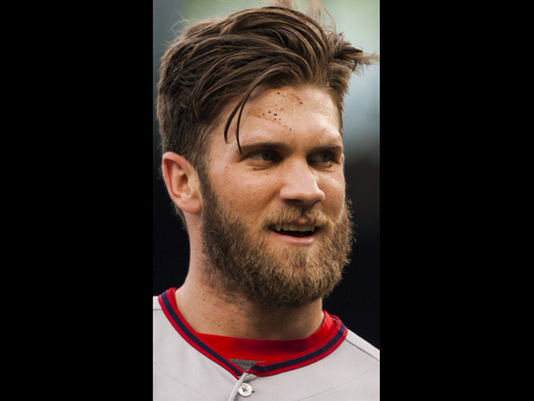 Pictures Of The Bryce Harper Haircut Mlb S Hottest Young