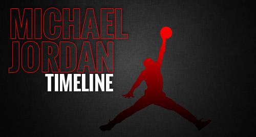 Michael Jordan Timeline of Events & Achievements