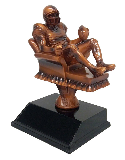 fantasy football arm chair trophy